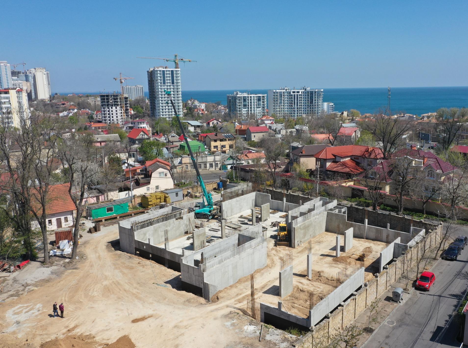 (RU) Ход строительства Апрель 2020