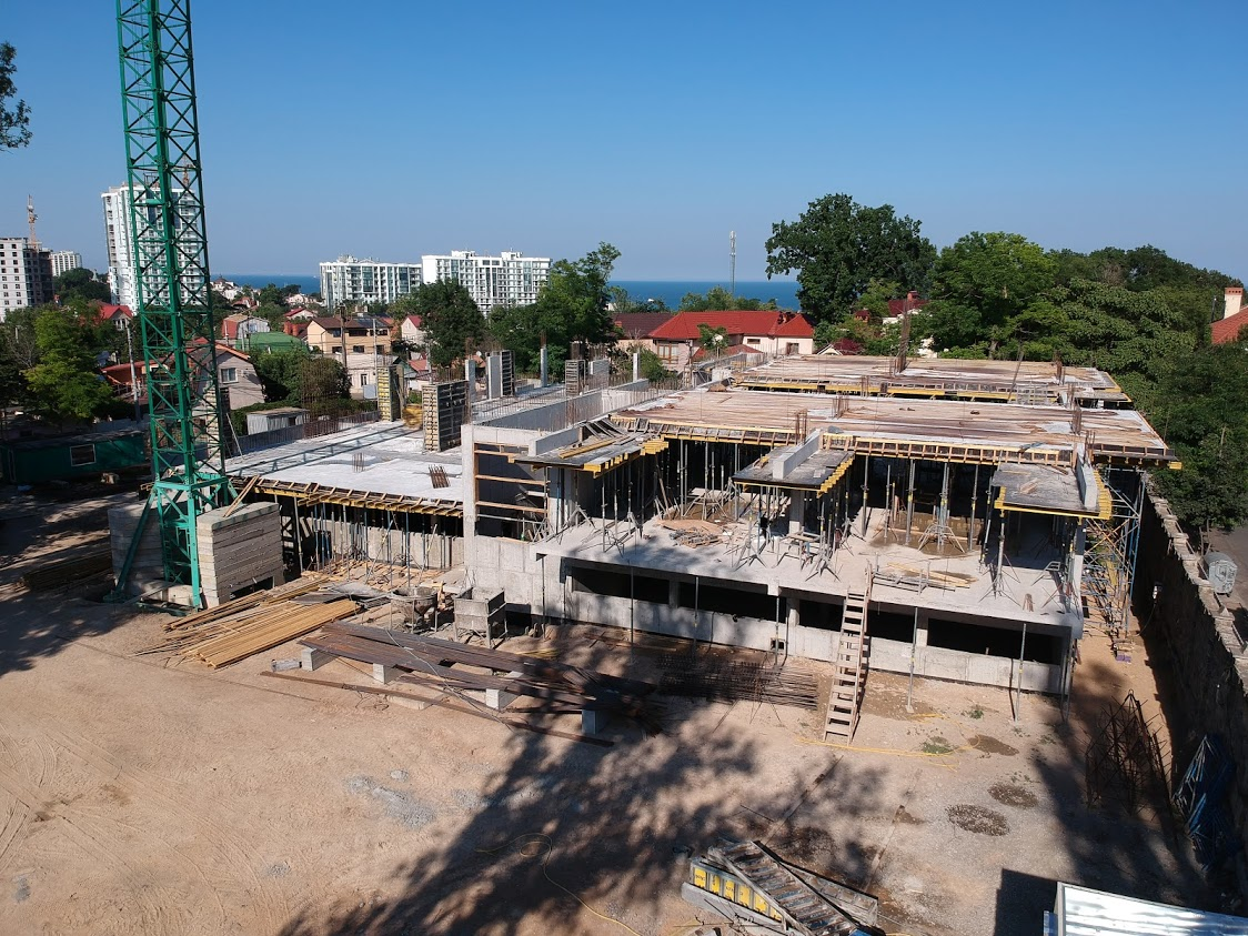 (RU) Ход строительства Июнь 2020