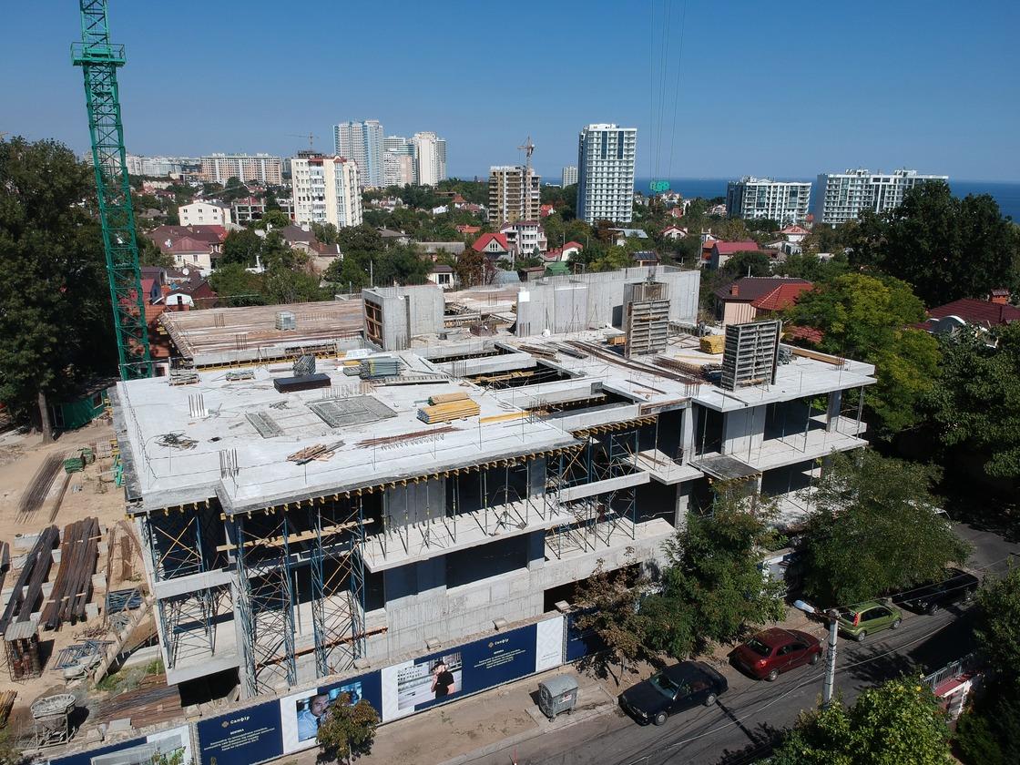 (RU) Ход строительства Август 2020