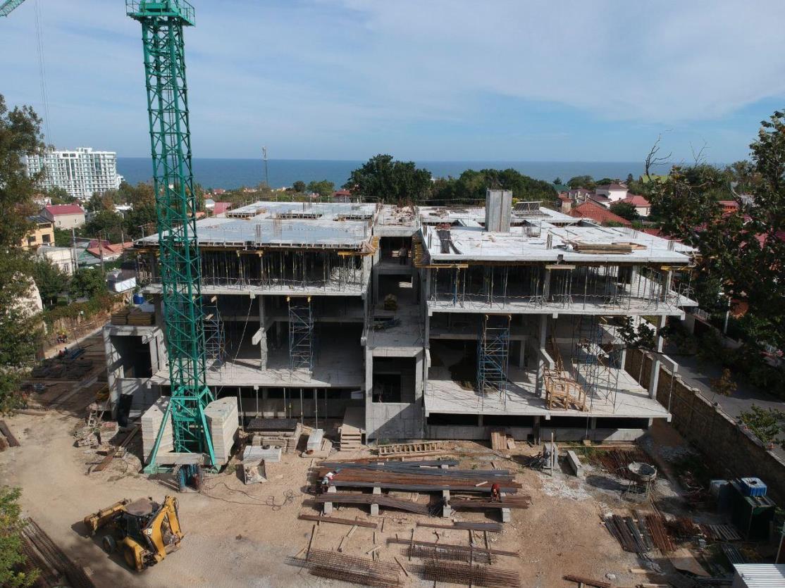(RU) Ход строительства Сентябрь 2020