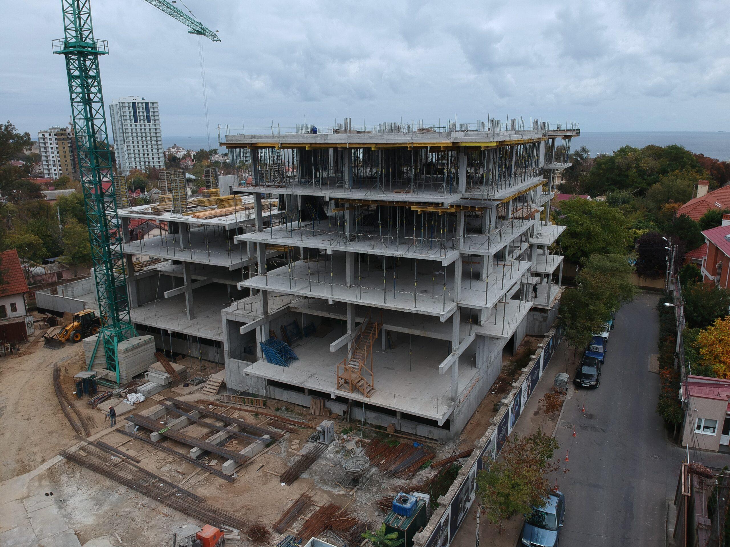 (RU) Ход строительства Октябрь 2020