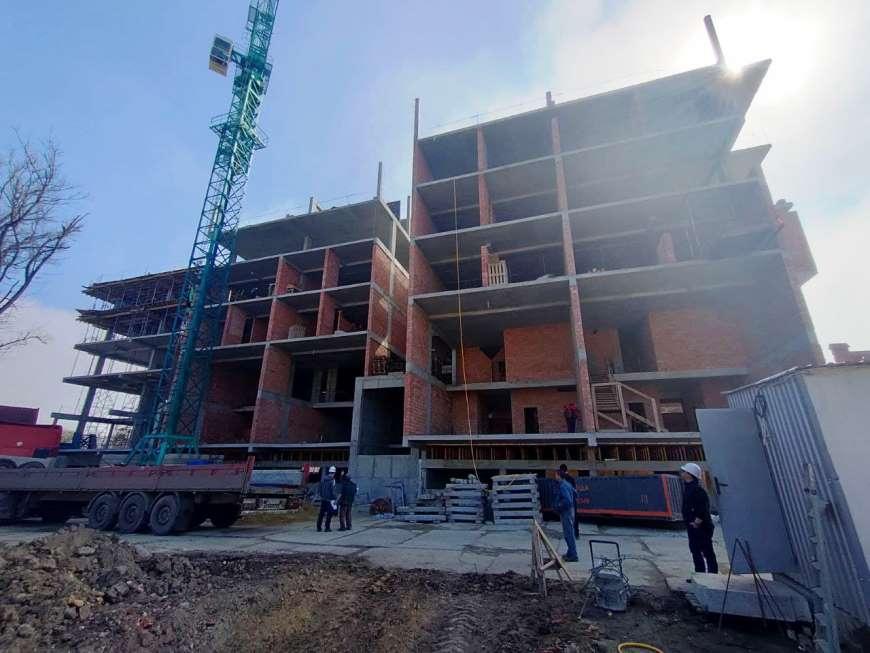 (RU) Ход строительства Апрель 2021